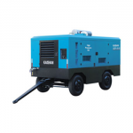 LG diesel mobile screw air compressor